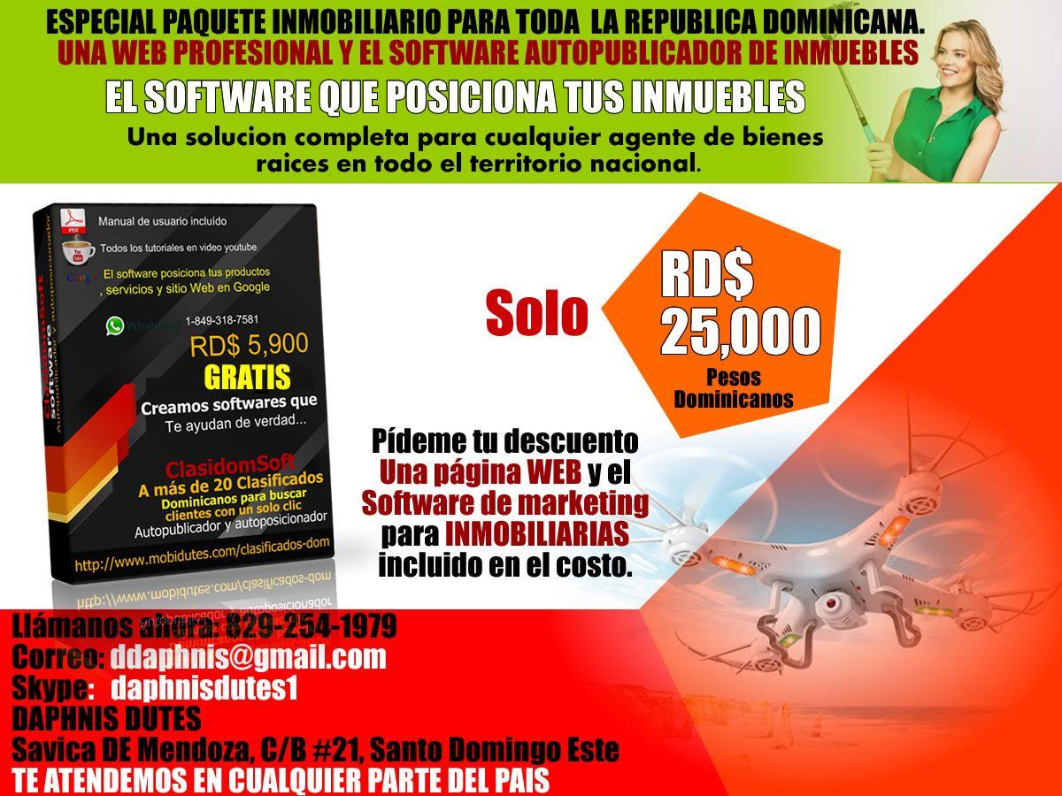 Diseño De Sitio Web Para Inmobiliarias Y Software De Marketing En La República Dominicana Www Mobidutes Com Agente De Bienes Raíces Crear Sitio Web Marketing