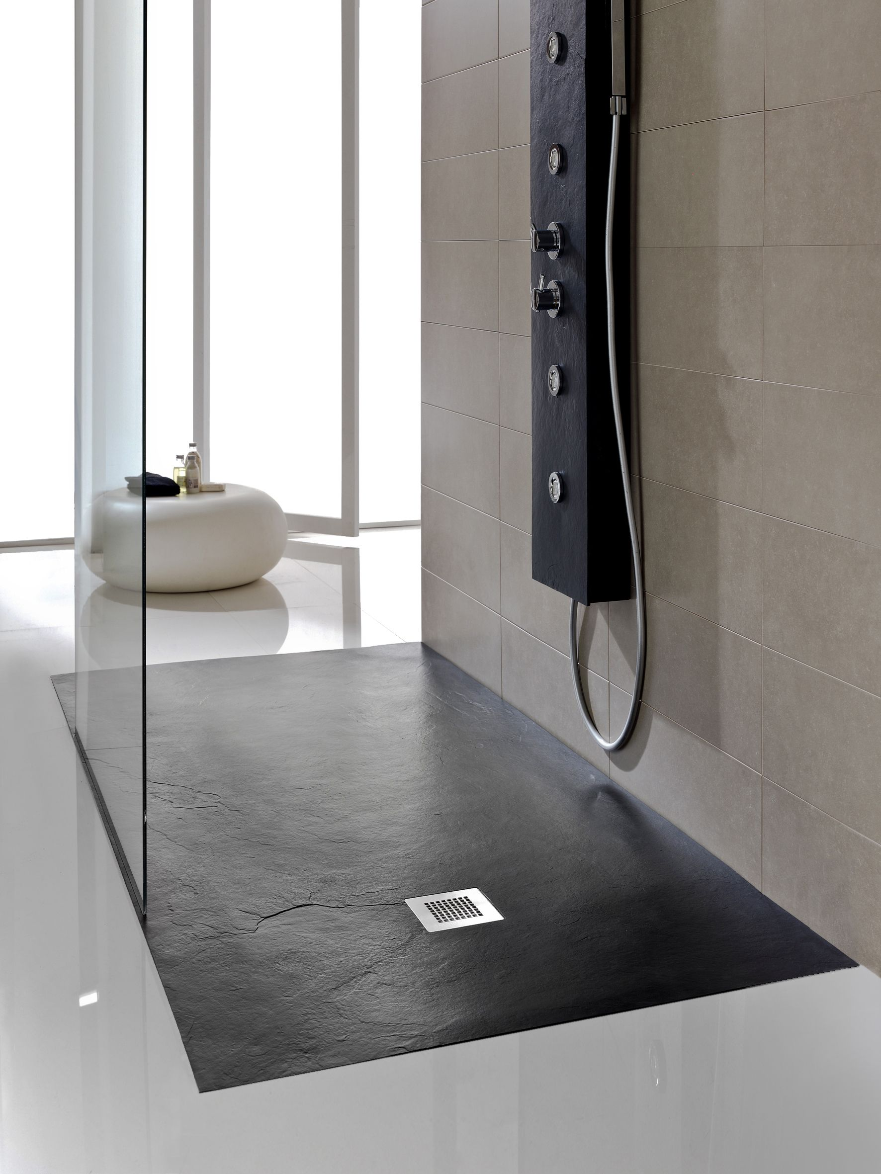 Our Softstone Aqua Cusion Floor Makes For A Luxurious Wet Room Showering Experience Shower Tray Modern Bathroom Accessible Bathroom Design