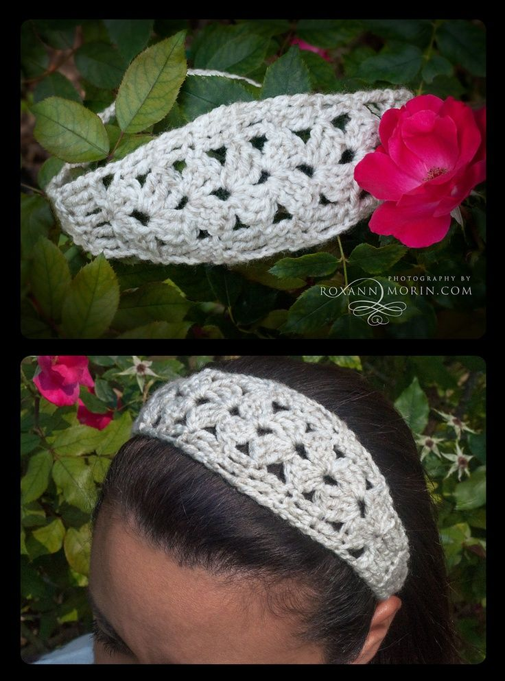 This is a nice FREE crochet headband pattern! So easy only takes about 30 to 45 mins :-) | Craft ~ Your ~ HomeCraft ~ Your ~ Home