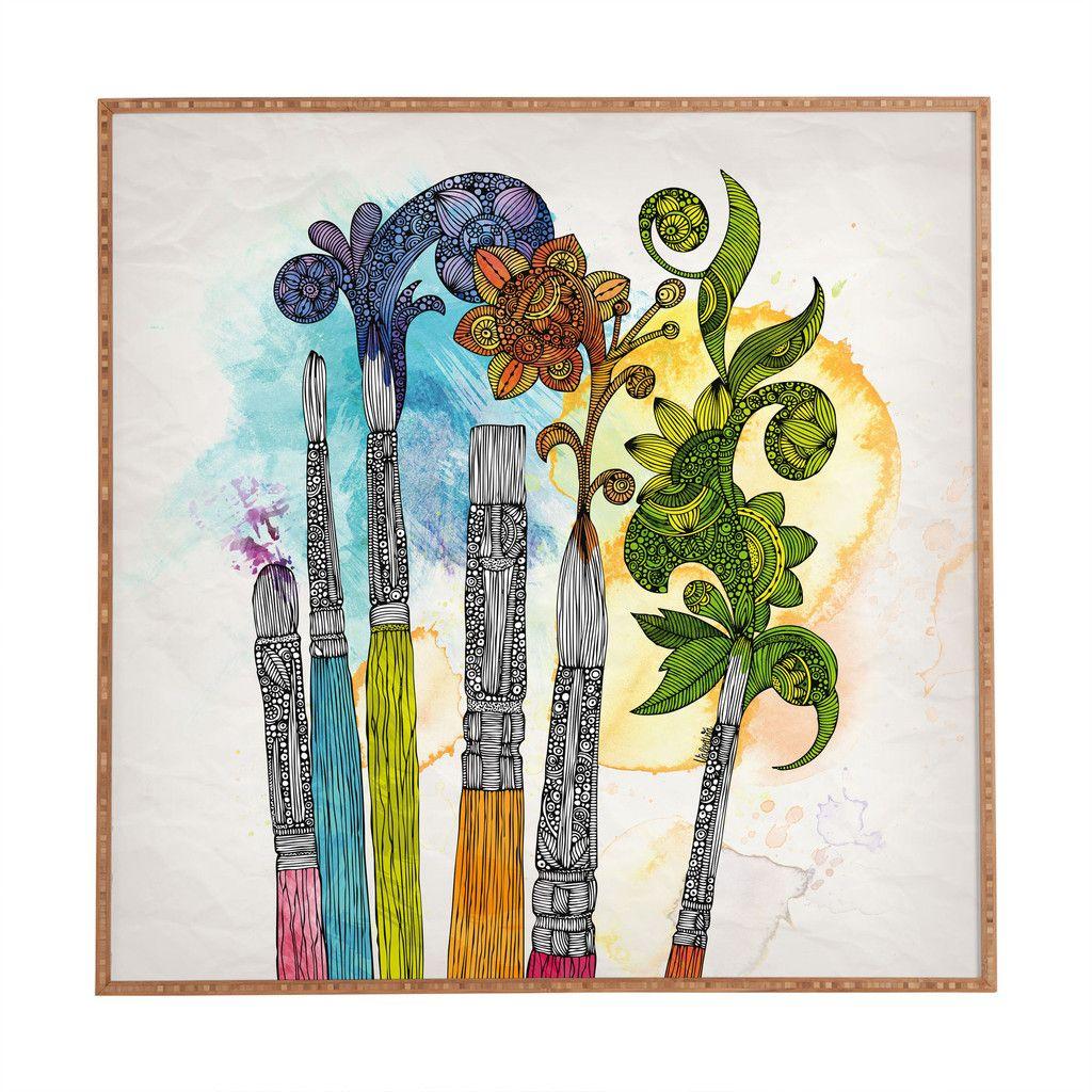 Valentina Ramos Brushtopia Framed Wall Art | DENY Designs Home Accessories