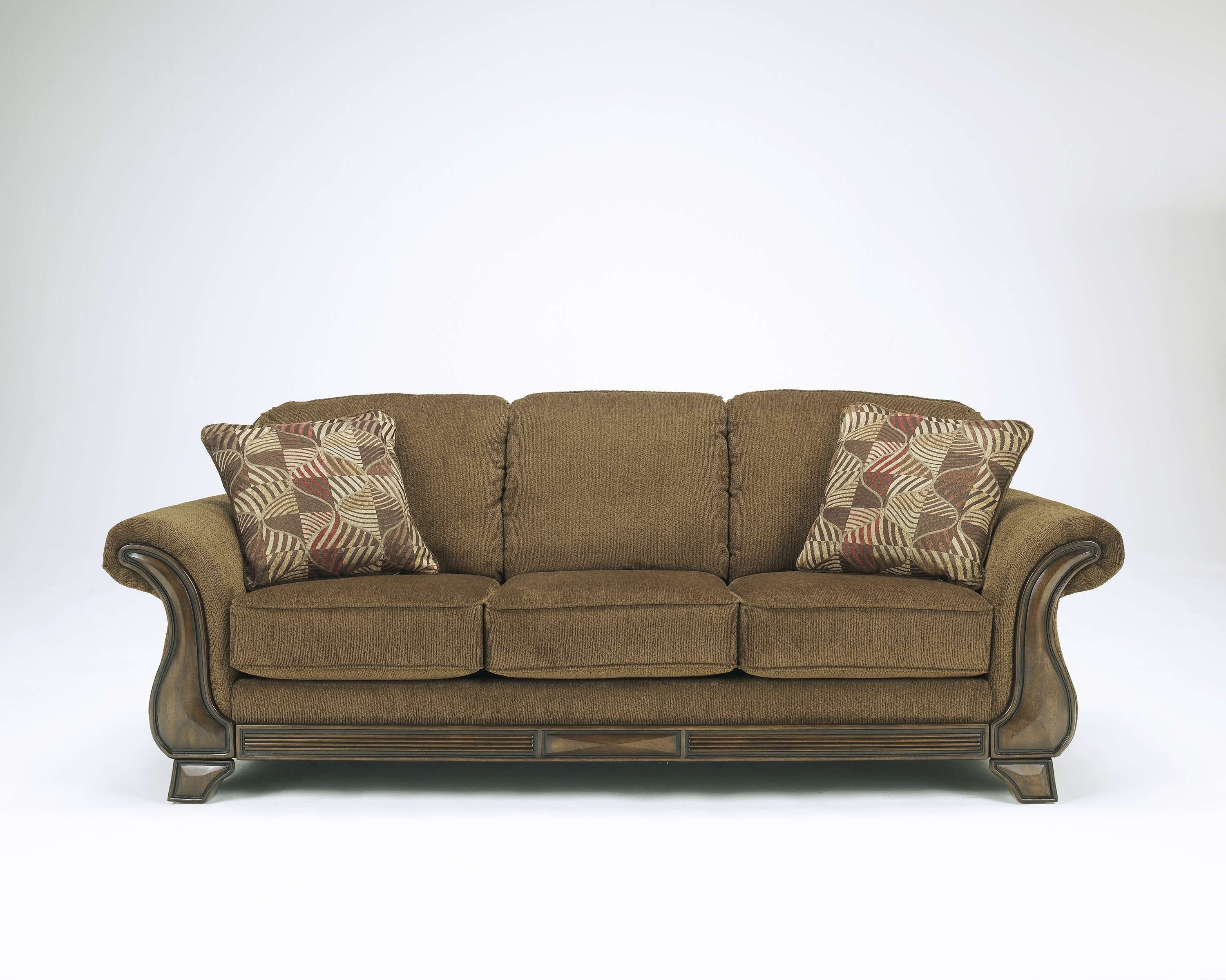 Signature Design by Ashley Montgomery Mocha Sofa & Reviews