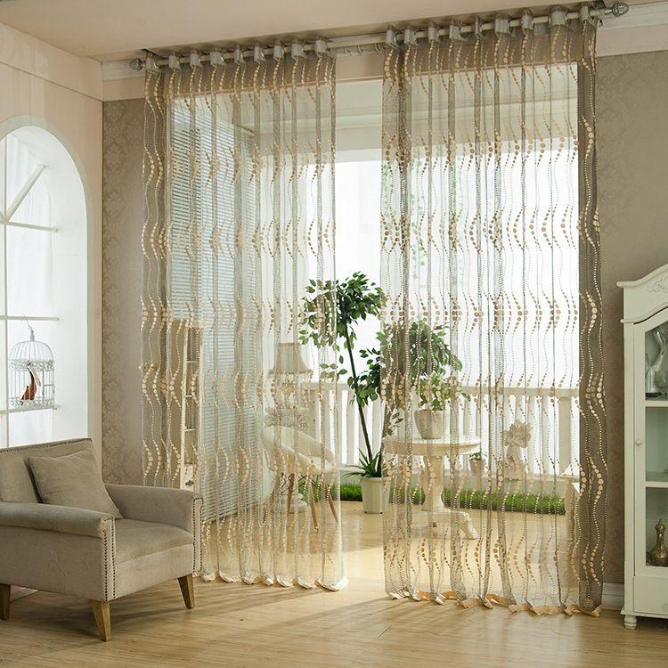 2 Panel transpirable hueco hacia fuera la ventana de detección - Cortinas Decoracion
