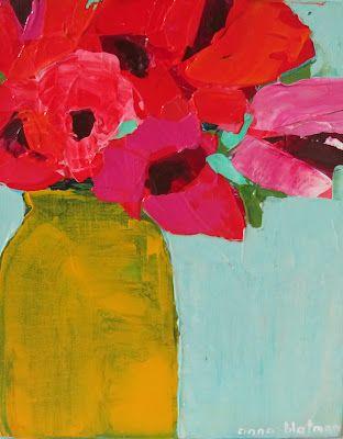 Yellow Vase - Anna Blatman...