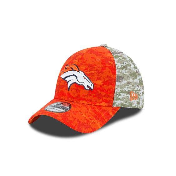 quality design ab2cd 86fd0 Denver Broncos 2015 Salute to Service New Era OnField 39Thirty Hat