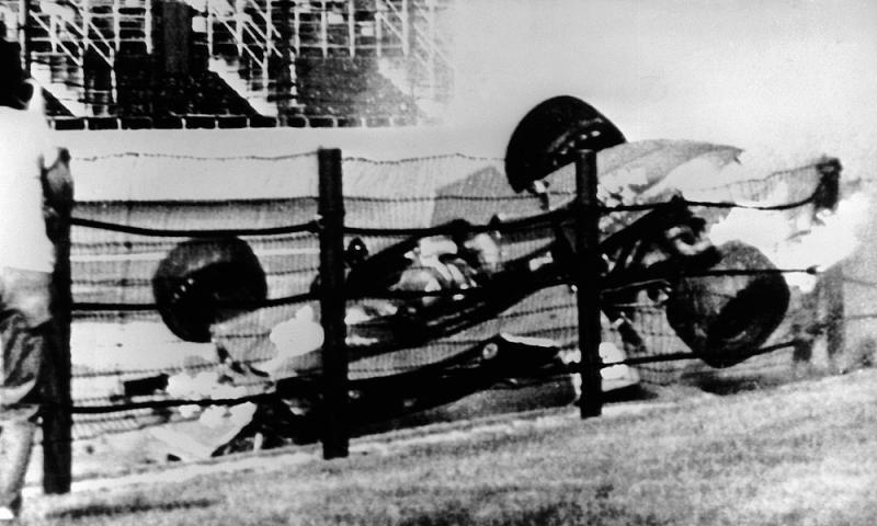 Clay Regazzoni Crash
