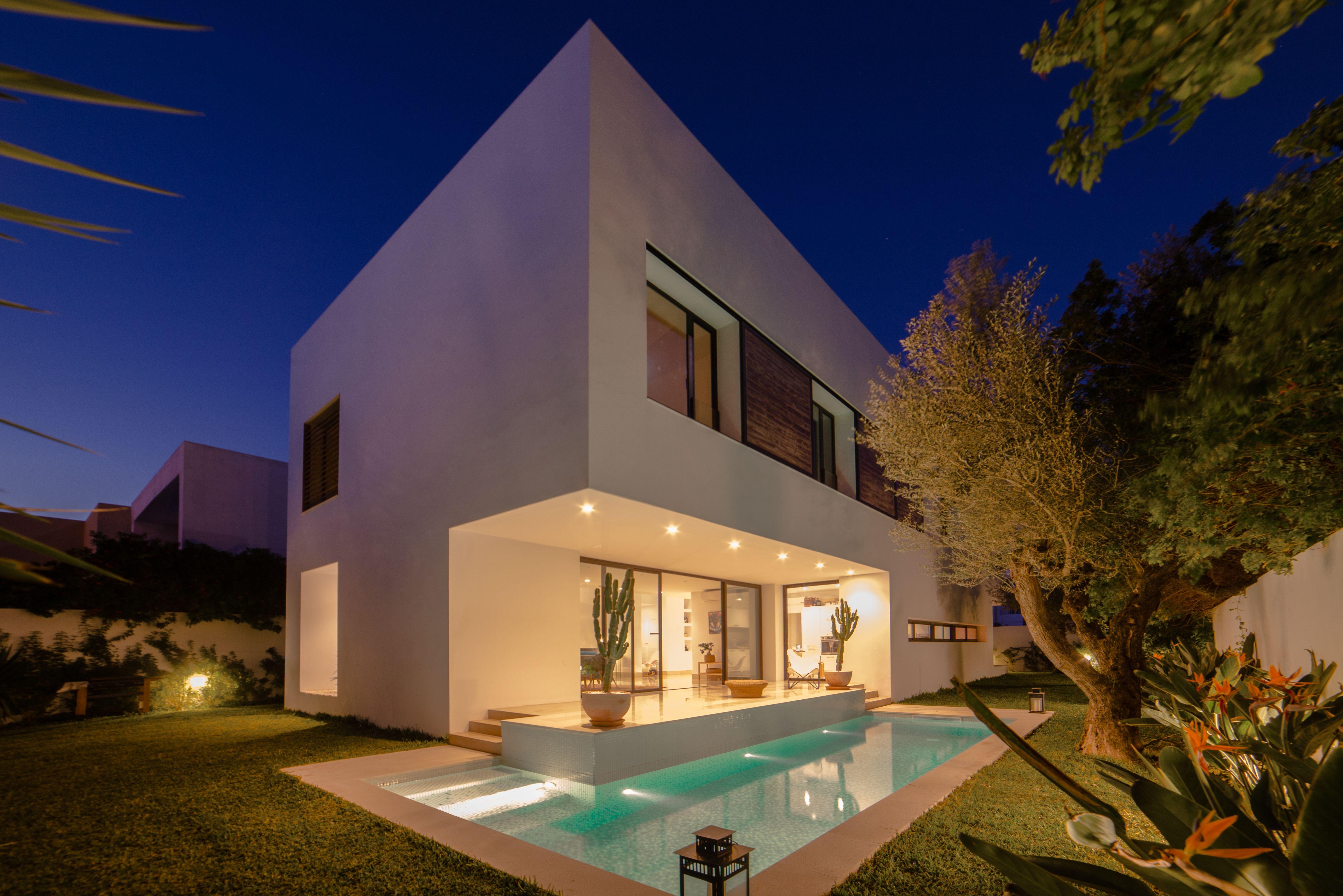 Villa Ch Gammarth Tunisie Etude 2012 Realisation 2015 2016
