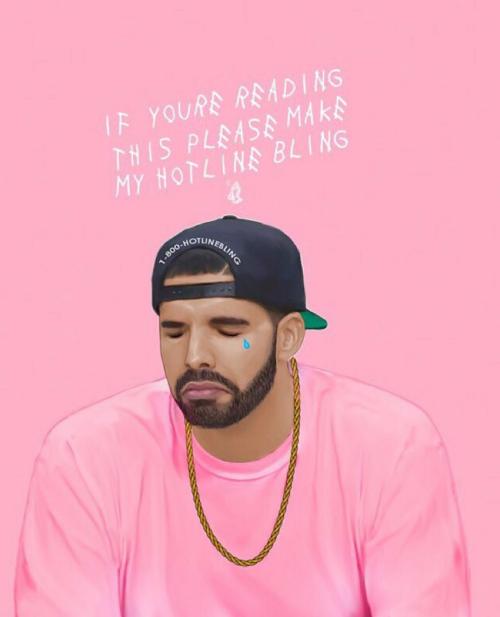 Drake Iphone Wallpaper: Drake Hotline Bling