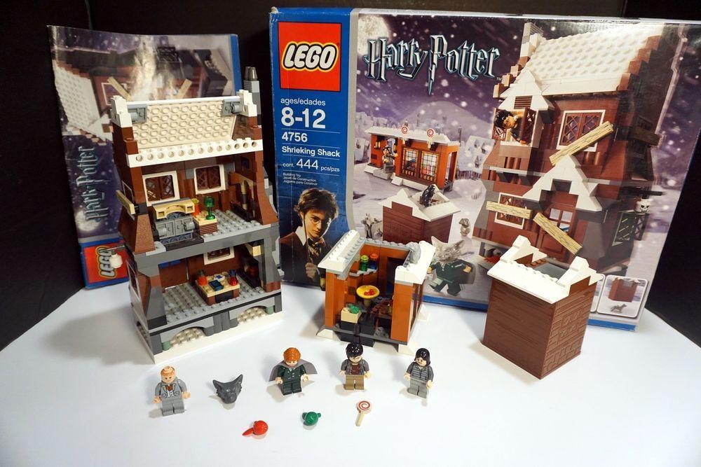 Lego Harry Potter 4756 Shrieking Shack 100 Complete W Box Instructions Lego Harry Potter Potter Lego