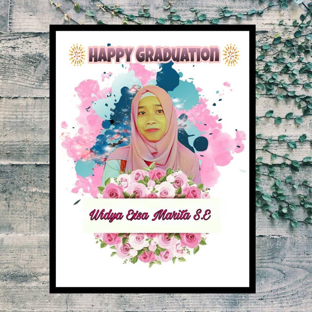 Edit Foto Colorsplash Mozaik Cocok Utk Hadiah Ulang Tahun Wisuda