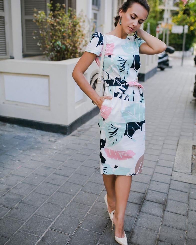 2141a43d3dc036e Летние платья для женщин после 40 -- 9 стильных образов   МОДА - ЗА ...