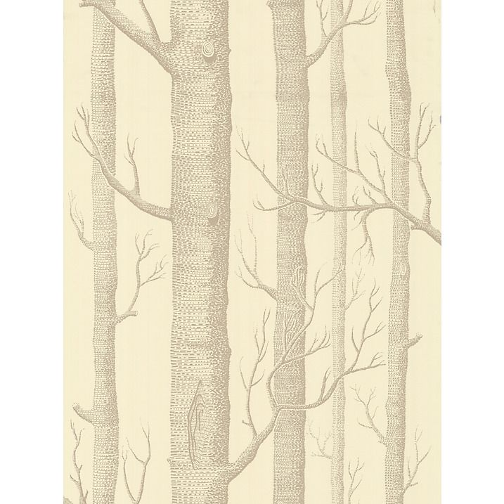 Buy Cole & Son Woods Wallpaper, Cream / Taupe, 69/12148 Online at johnlewis.com