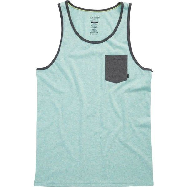 c4b84ad41a6e6 Billabong Unisex Zenith Tank ( 25) ❤ liked on Polyvore featuring tops