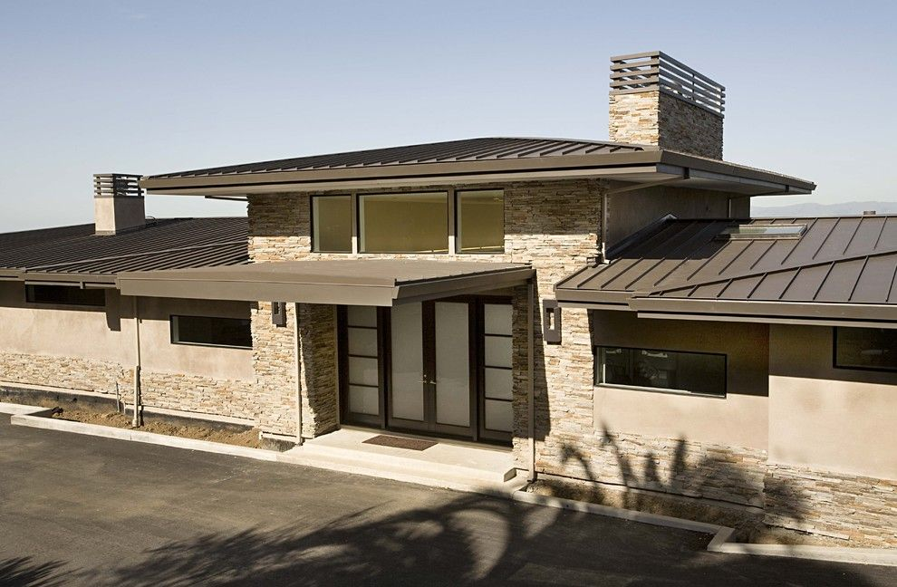 House roof design popular simple minimalist house roof top for Modern roof design types
