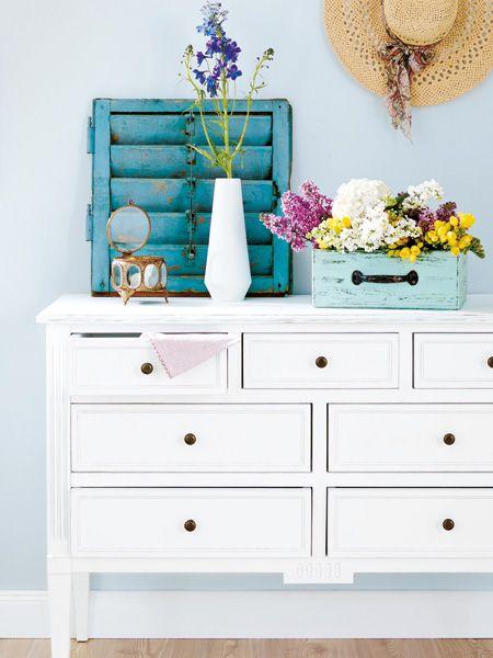 frisch und sommerlich hier kommt der neue shabby chic. Black Bedroom Furniture Sets. Home Design Ideas