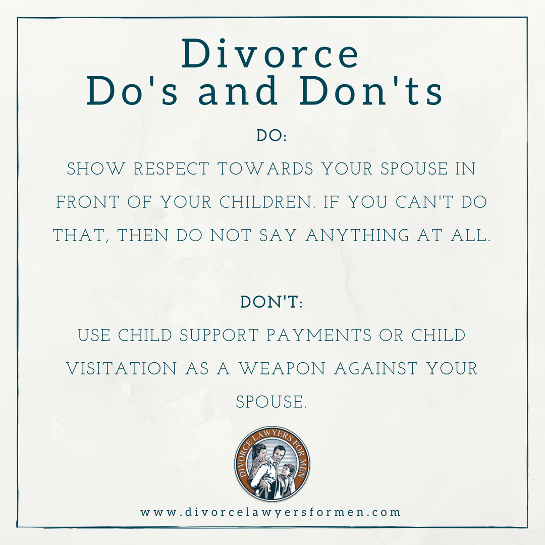 Divorce Do S And Don Ts