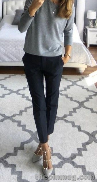 Simple Work Fall Outfits Ideas for Women #falloutfitsforwork – printer