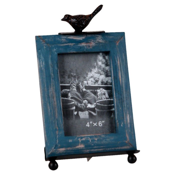 Bird Picture Frame & Easel