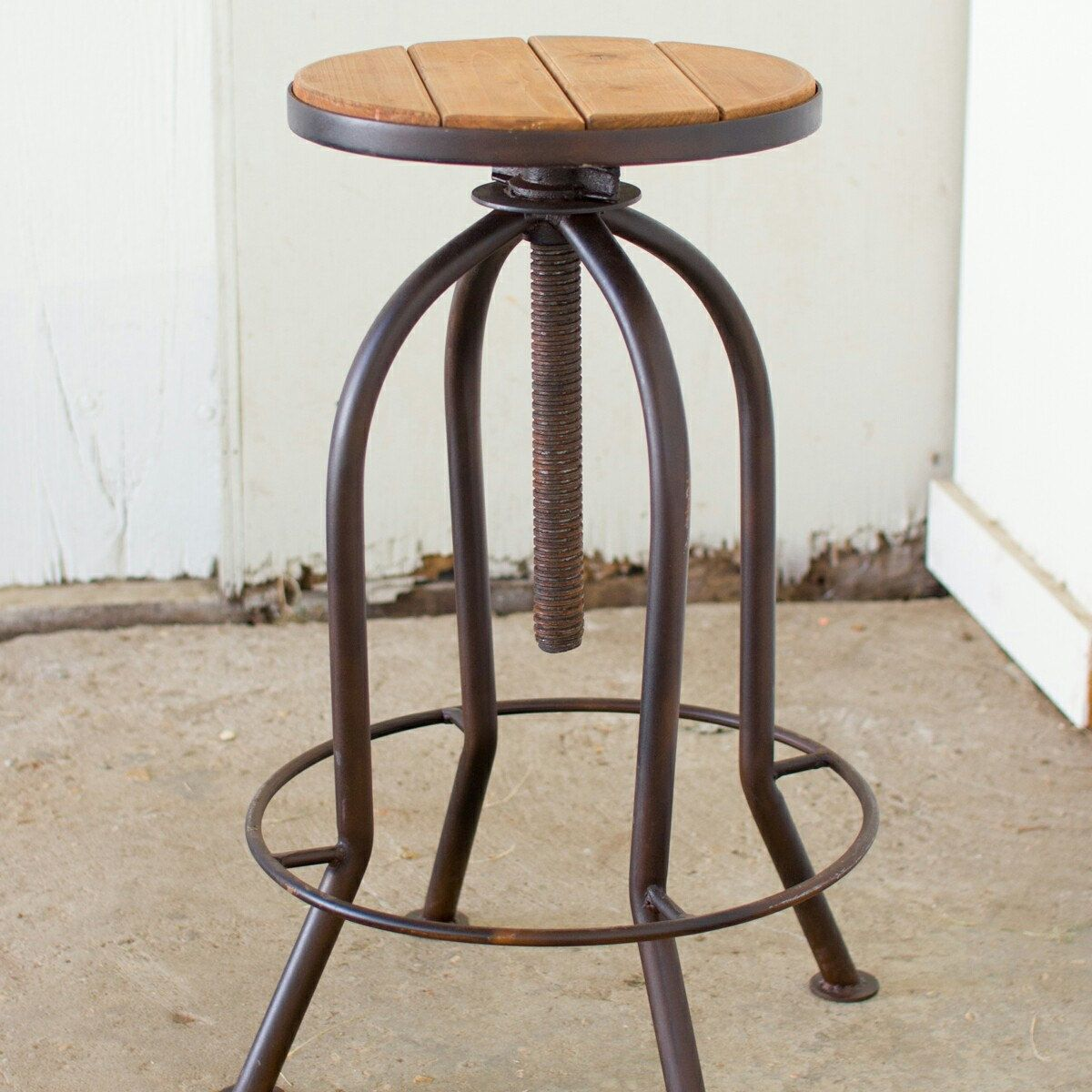 Coming Soon Industrial All Thread Stool Awesome Rustic Bar