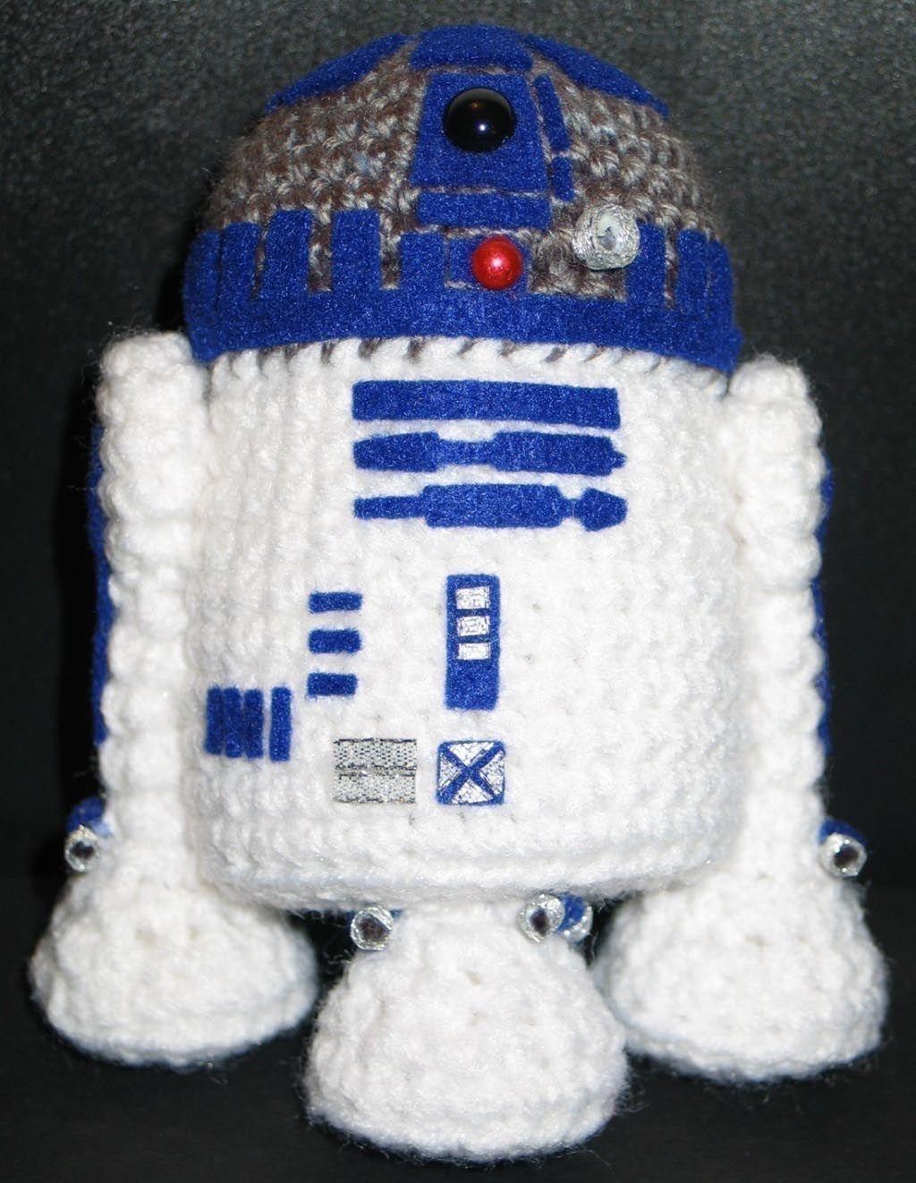 Make Your Own Star Wars R2-D2 Amigurumi | Guerra de las galaxias ...