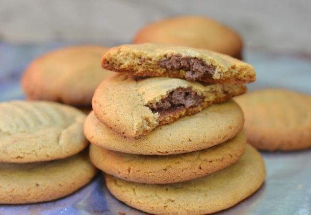Reese Peanut Butter Chocolate Lava Cookies Recipe