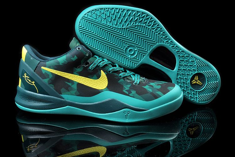 Nike Zoom Kobe VIII 8 Year of the Snake Black Green Volt
