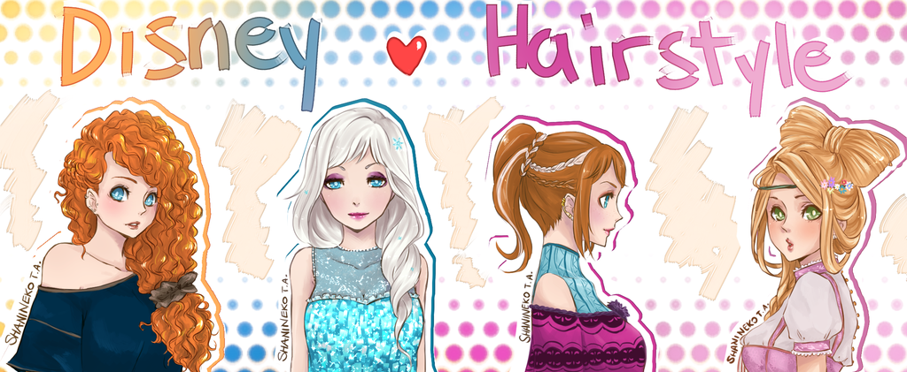 Disney Hairstyles 6 hairstyle tutorials from disneys frozen Disney Hairstyle By Shaninekodeviantartcom On Deviantart