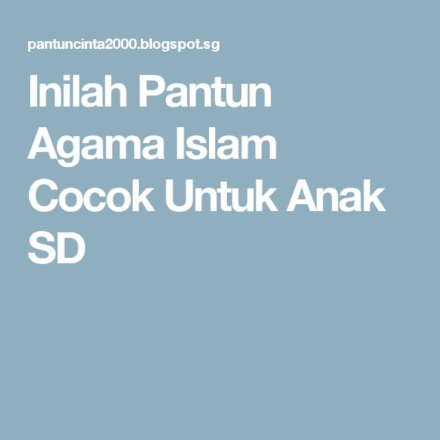 Pantun Agama Stpm Pantun Ombak Belajar Seni Dan Tari Kreasi Indonesia 1232