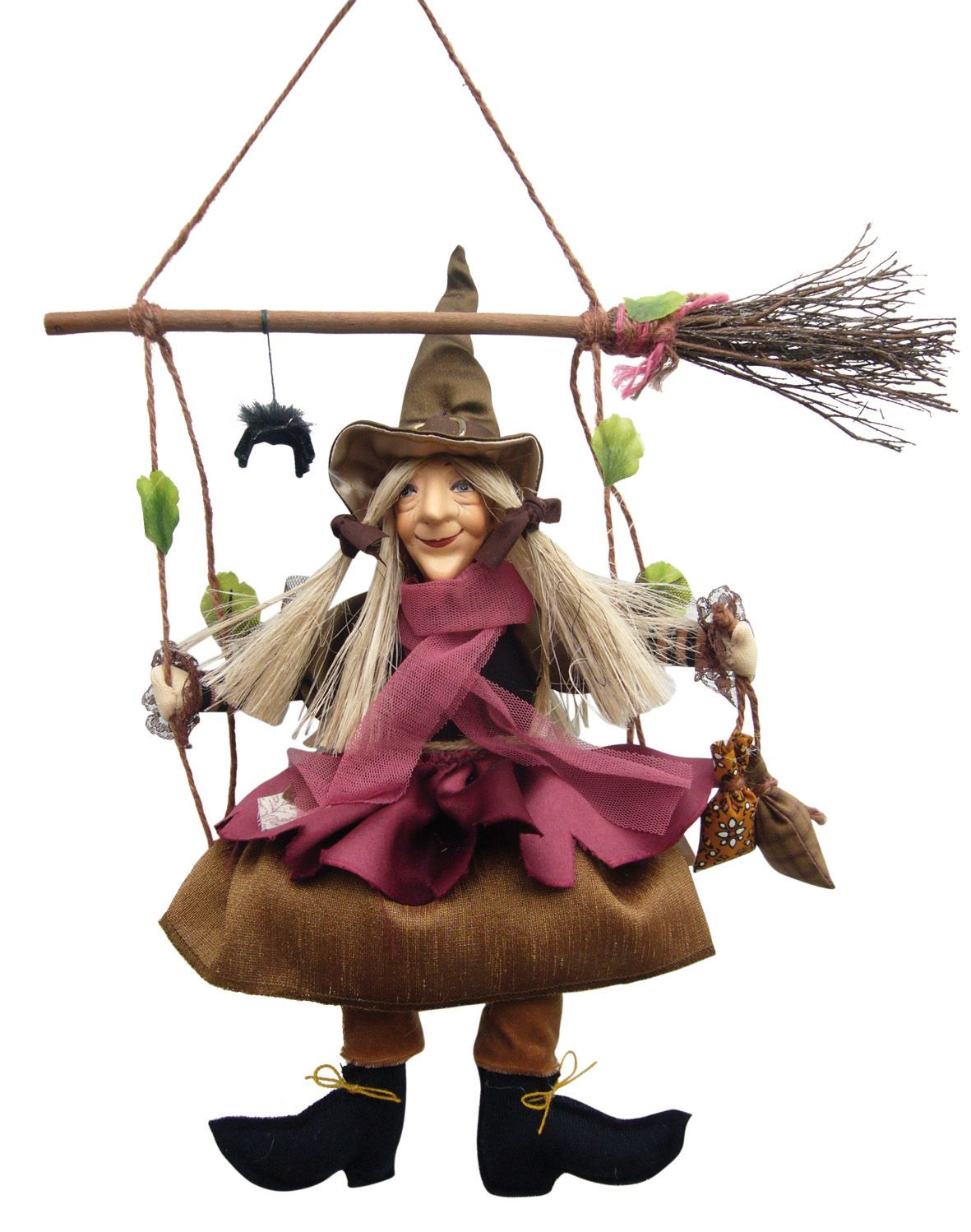 Olivia Swinging Kitchen Witch Doll - SOLD OUT | kitchens | Pinterest