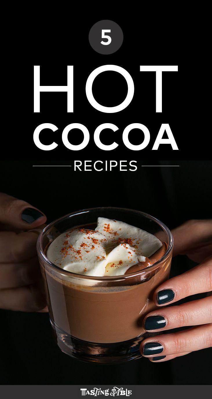 5 hot chocolate recipes