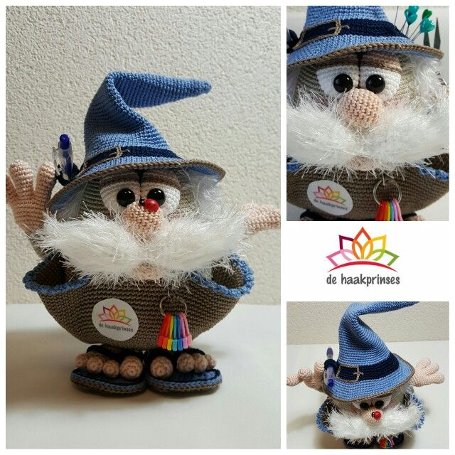 Haakhulpje Harrie | kabouters (nl) / gnomes (no) / nisser (dk ...