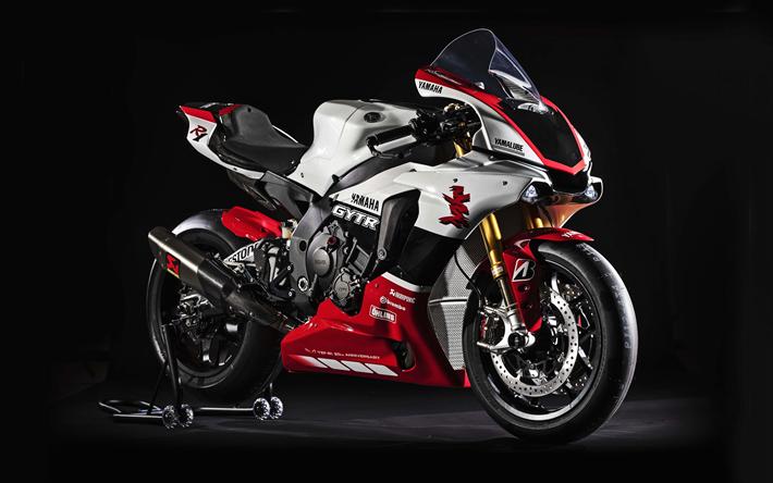 Download Wallpapers 4k Yamaha Yzf R1 Tuning 2019 Bikes Yamaha
