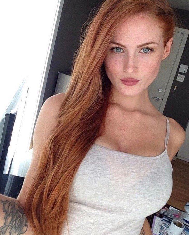 Redhead girl website