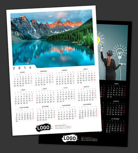 Calendarios personalizados de pared 30x42 cm simple Características ...