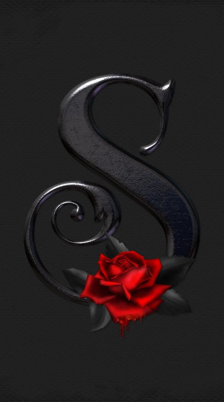 Download Letter S Rose Wallpaper By Konig 22 Free On Zedge Now Browse Millions Of Popula Alphabet Wallpaper Monogram Wallpaper Flower Phone Wallpaper