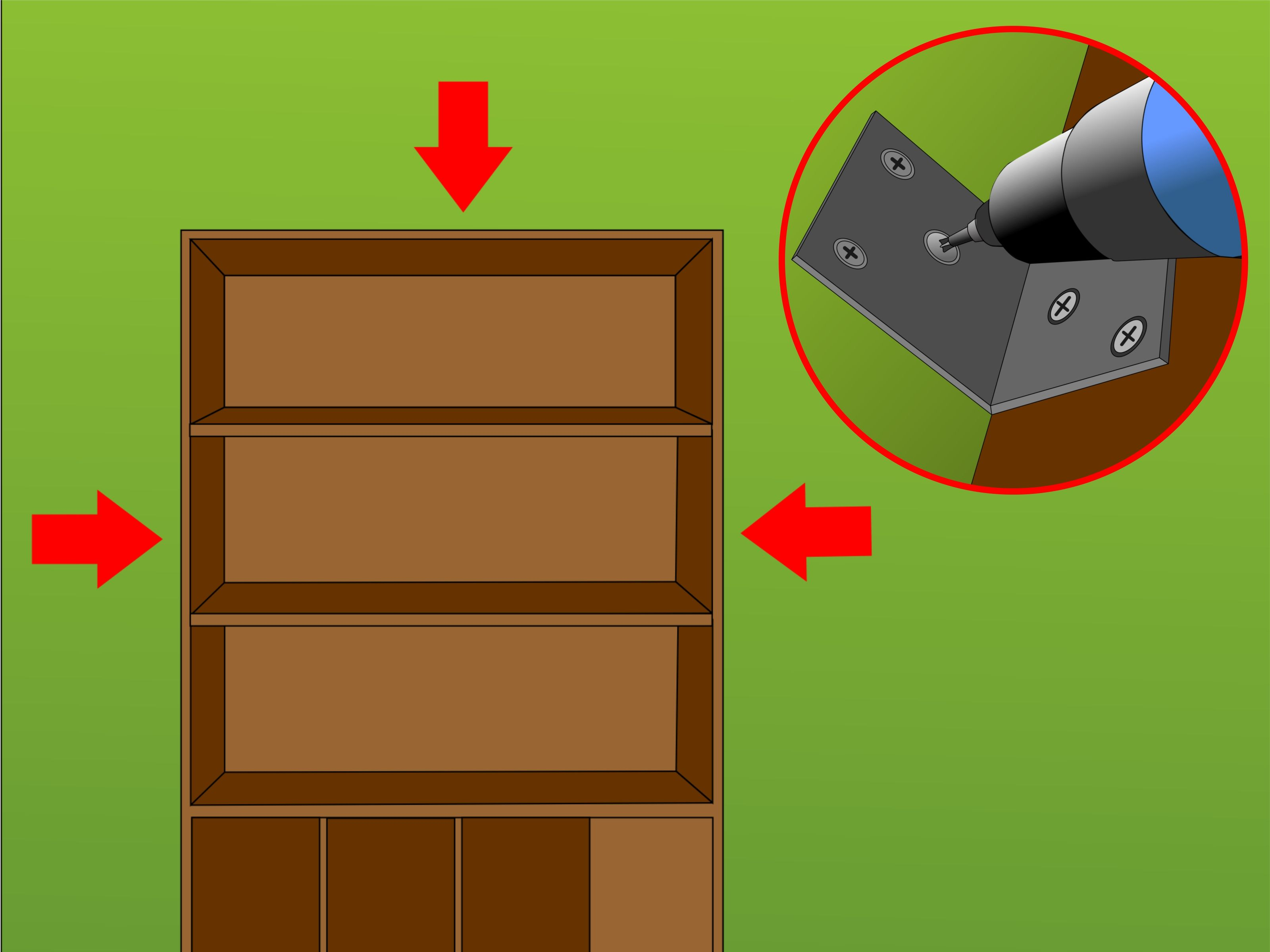 Secure A Bookcase To Wall Toddler Building