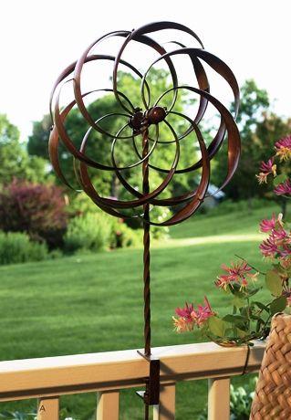 Garden Wind Spinner Garden Wind Spinners Garden Spinners Garden Art