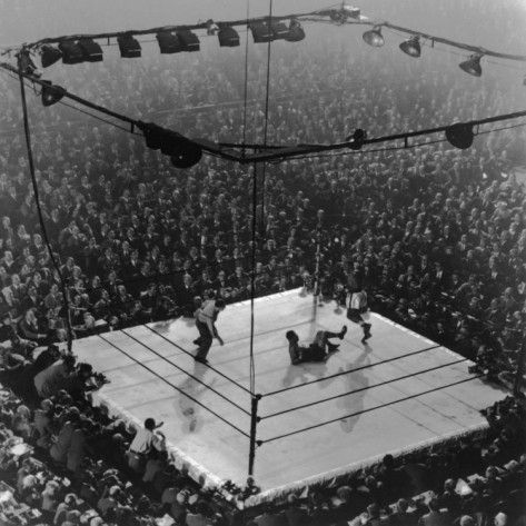 Boxing Match | Madison square garden, Gjon mili