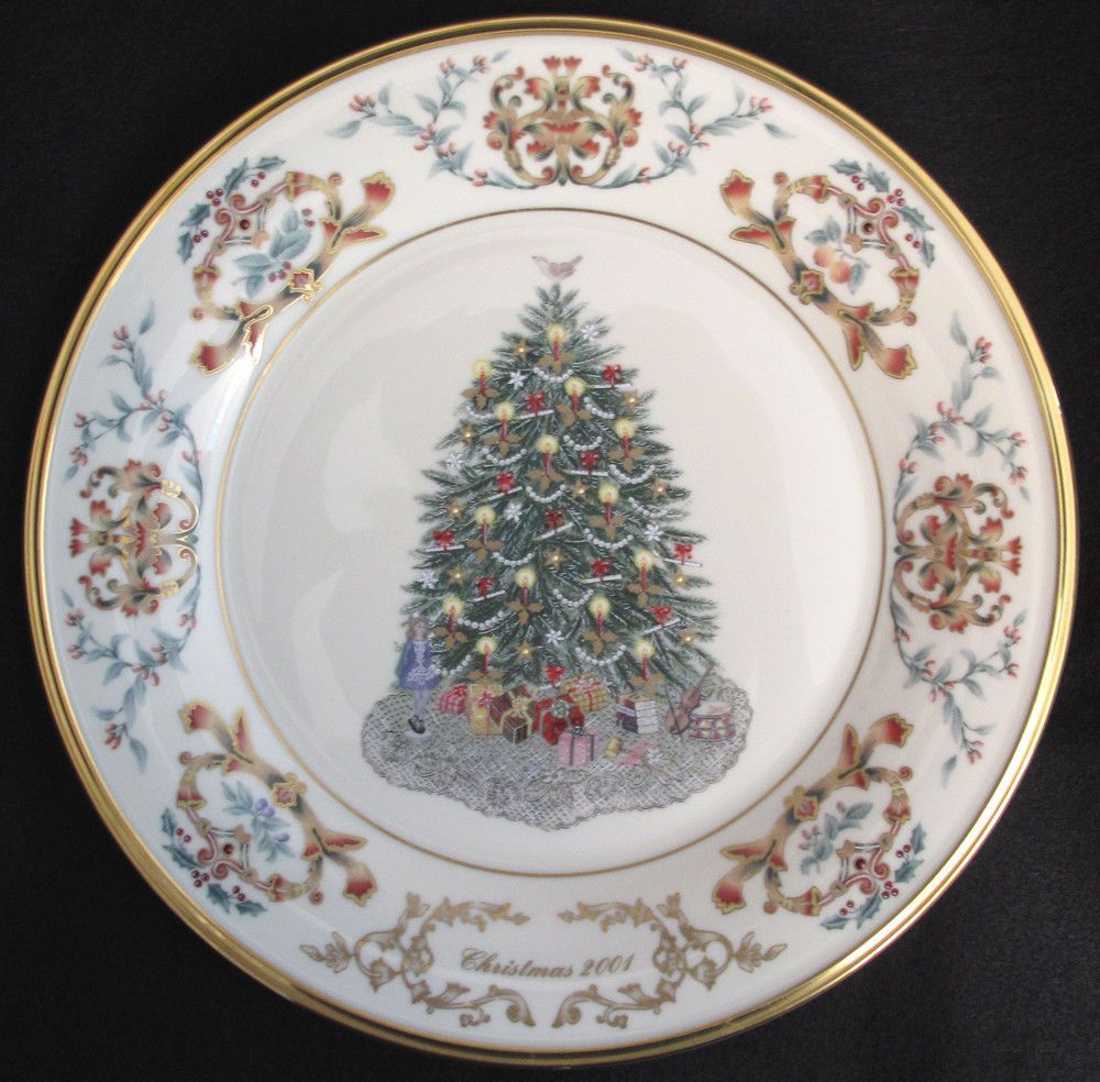 Details about Lenox CHRISTMAS TREES AROUND THE WORLD PLATE ...