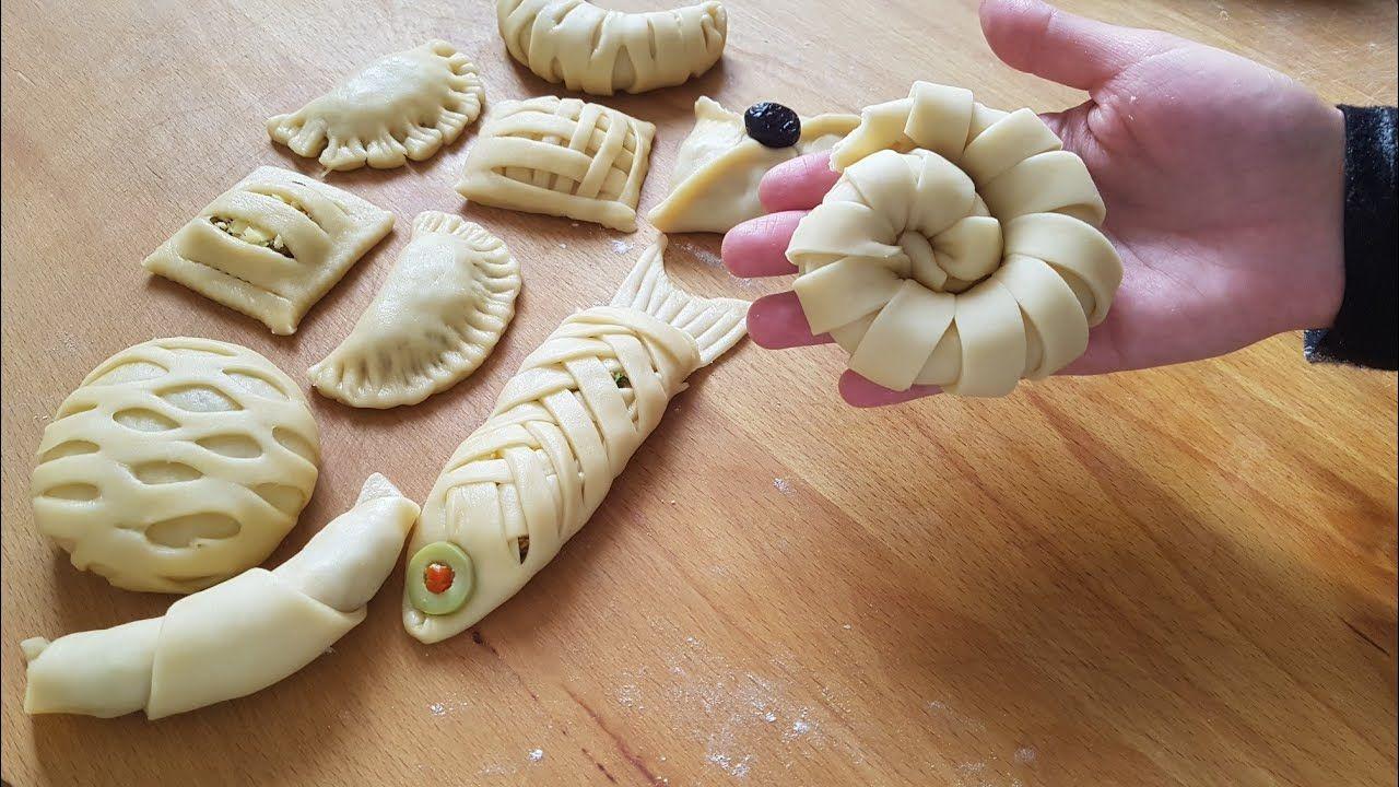 طريقة تشكيل اكثر من 15 شكل من المعجنات غاية في الجمالnew Beautiful Pastry Ideas رمضان فطائر جديد Youtube Food Fun Snacks Dessert Appetizers
