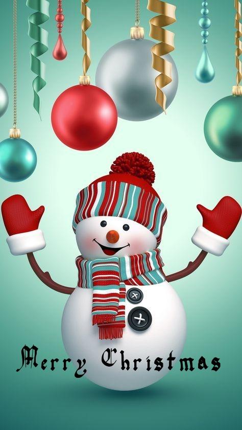 Cute Snowman Christmas Kids Wallpaper Cute Christmas Wallpaper Christmas Phone Wallpaper Christmas Wallpaper