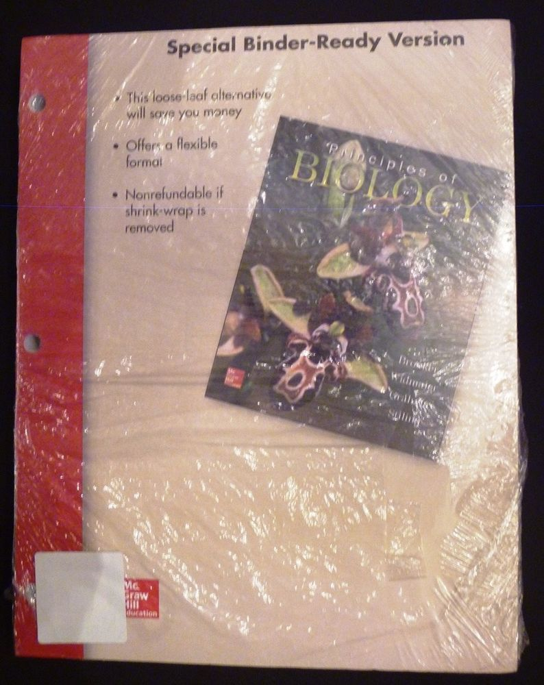 principles of biology mcgraw hill 15th edition special binder ready
