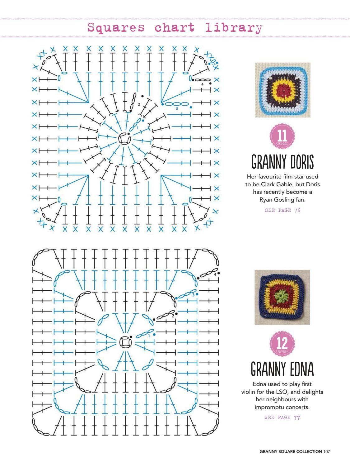 Granny square collection 2016 #ClippedOnIssuu | Crochet Granys i ...