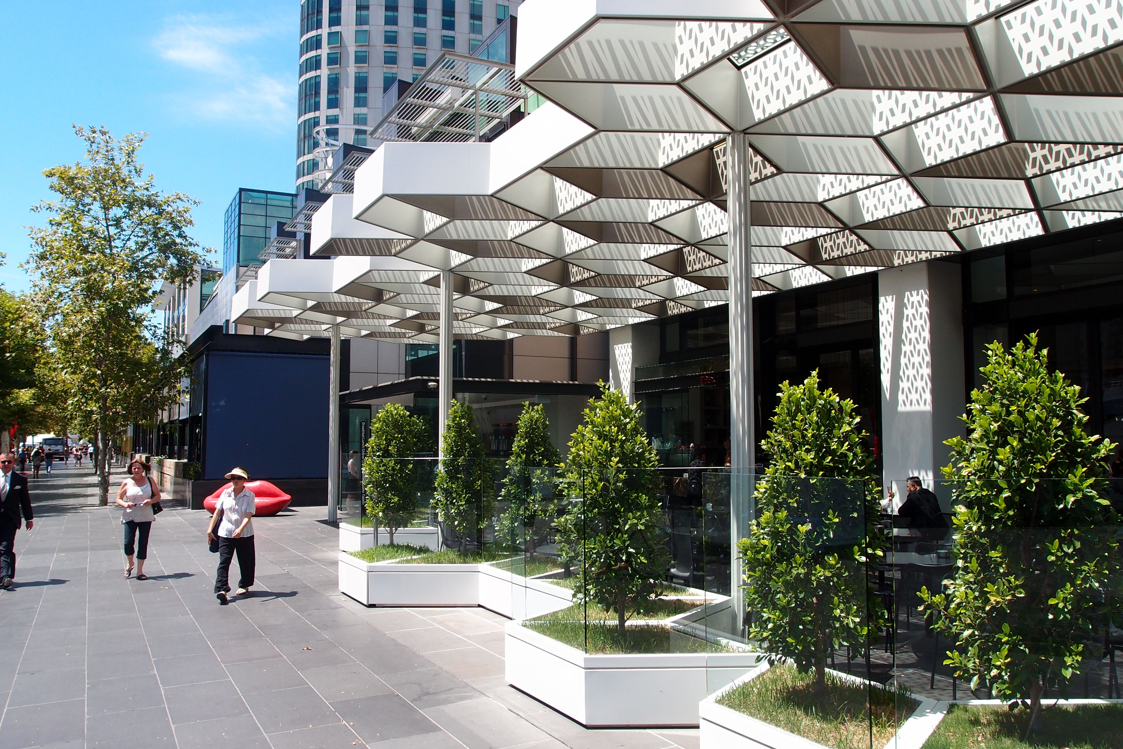 Southbank Canopy Google Search Shade Structure