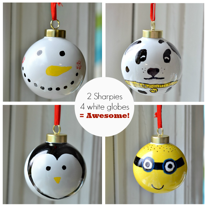 Sharpie Ornaments | DIY Ideas | Pinterest | Christmas Ornaments, Christmas  and Ornaments - Sharpie Ornaments DIY Ideas Pinterest Christmas Ornaments