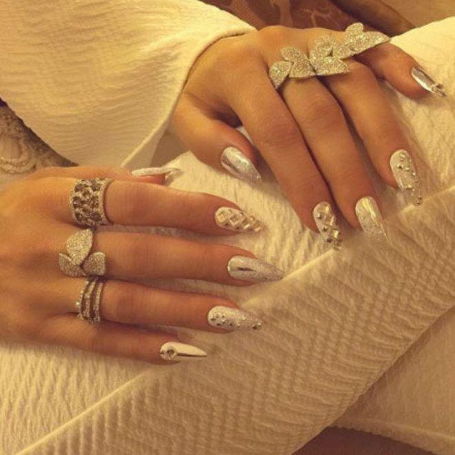 Nail art das celebridades | Jennifer Lopez
