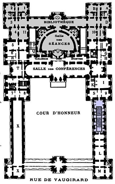 Luxembourg Plan Architectural Floor Plans Luxembourg Palace