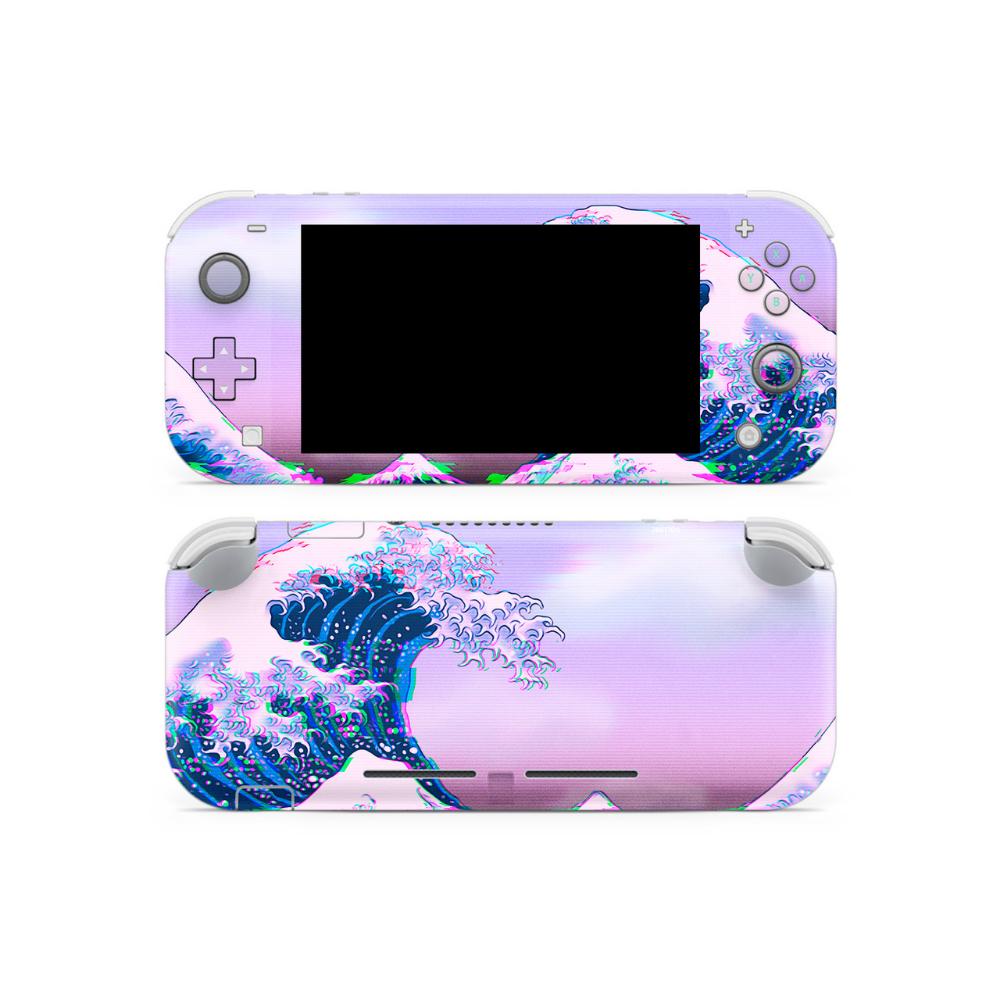 Glitchwave Switch Lite Skin Nintendo Switch Games Nintendo