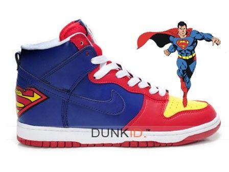 Superman dunk nike mens shoes | xinzhan00