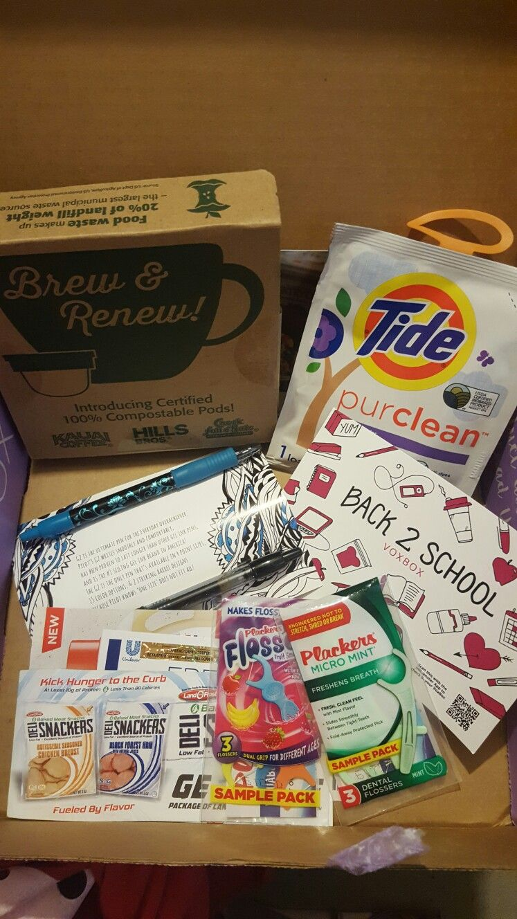 #b2svoxbox I received this amazing box from the Influenster complimentary for testing purposes.