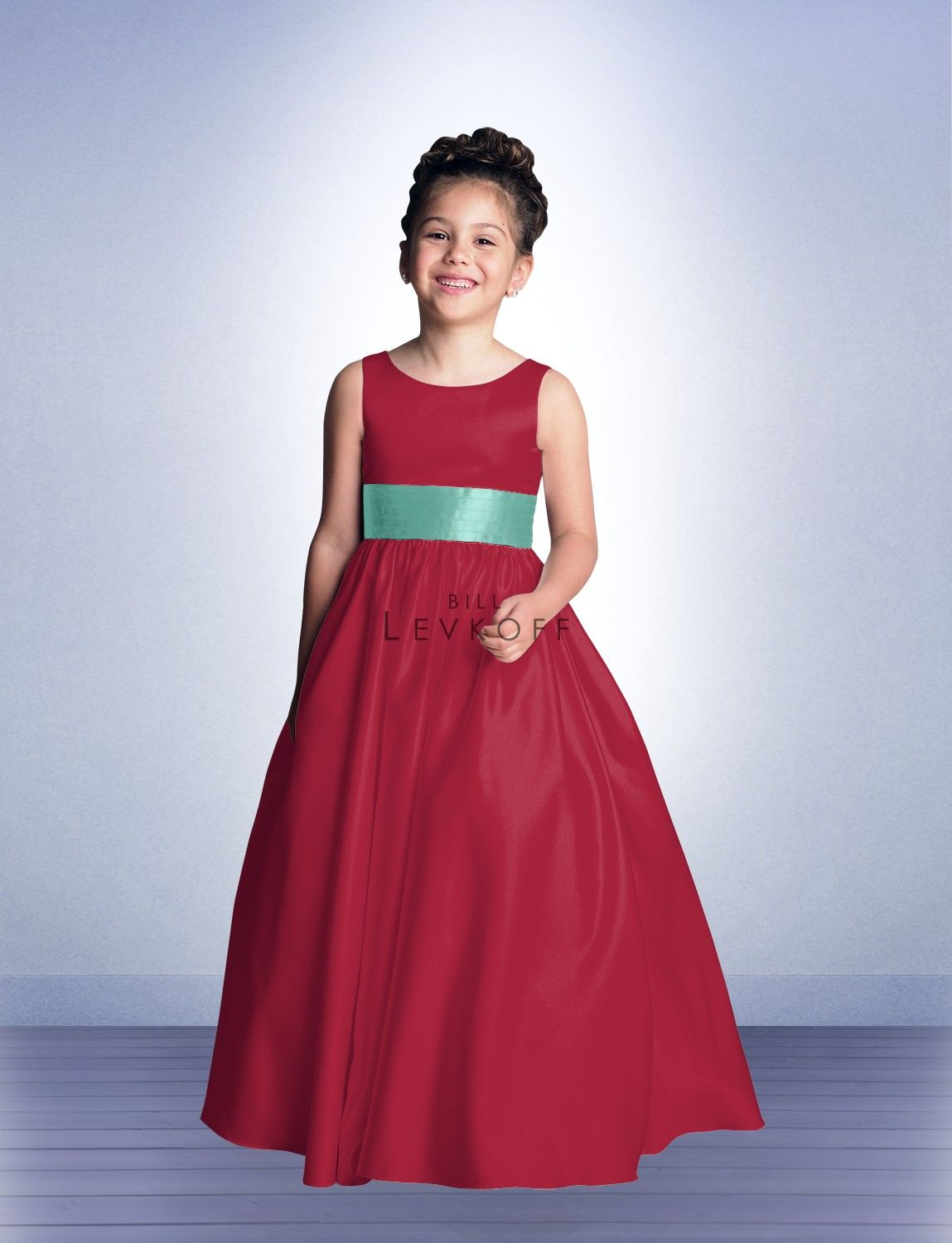 Red Party Dresses for Junior Girles Colour